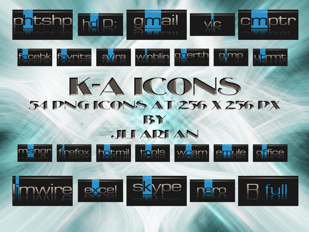 K-A icons by jlfarfan