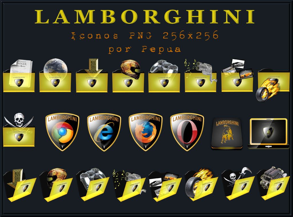 Lamborghini Icons By Jlfarfan On Deviantart