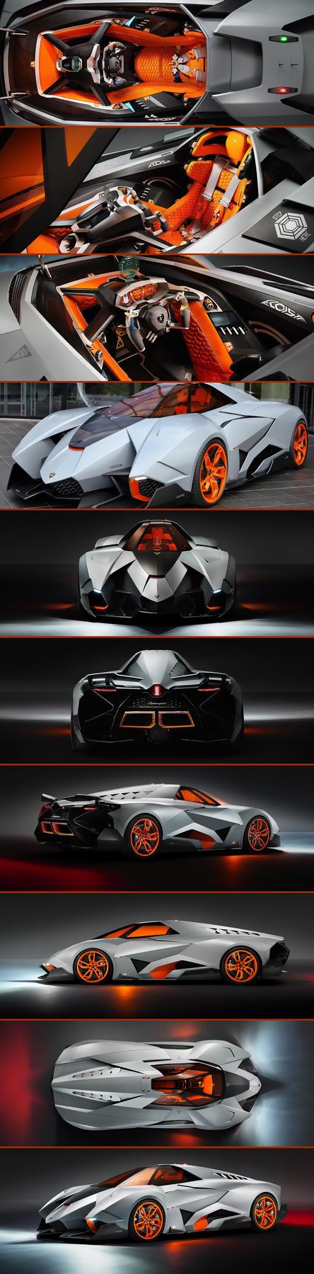 Lamborghini Egoista Wallpaper Pack by jlfarfan
