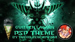 Gurren Lagann PSP theme by TheGoldenCrowbar