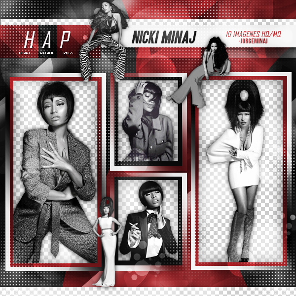 Pack png: Nicki Minaj by JorgeMinaj