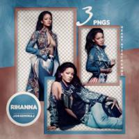 Pack png: Rihanna by JorgeMinaj