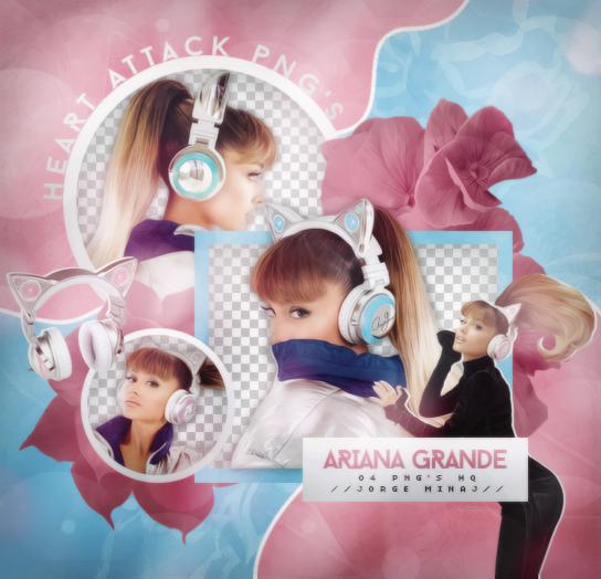 Pack png: Ariana Grande by JorgeMinaj