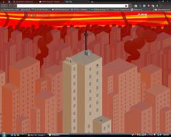 Dave Strider Chrome Theme by NeoEonUmbraShadow