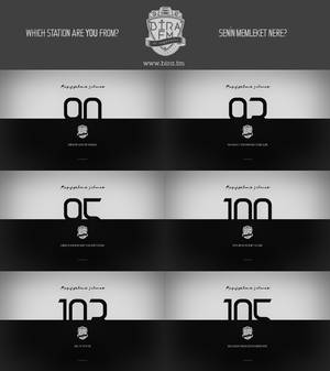 Bira.FM Wallpaper Pack 01