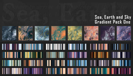 Gradient Pack 01 - Sea, Earth and Sky