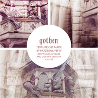 Gothen Textures Set by patzbone