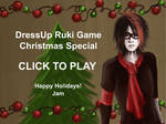 Ruki Christmas Dressup Game by japanmeonly