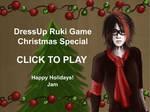 Ruki Christmas Dressup Game