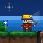 Digging in a pixel night