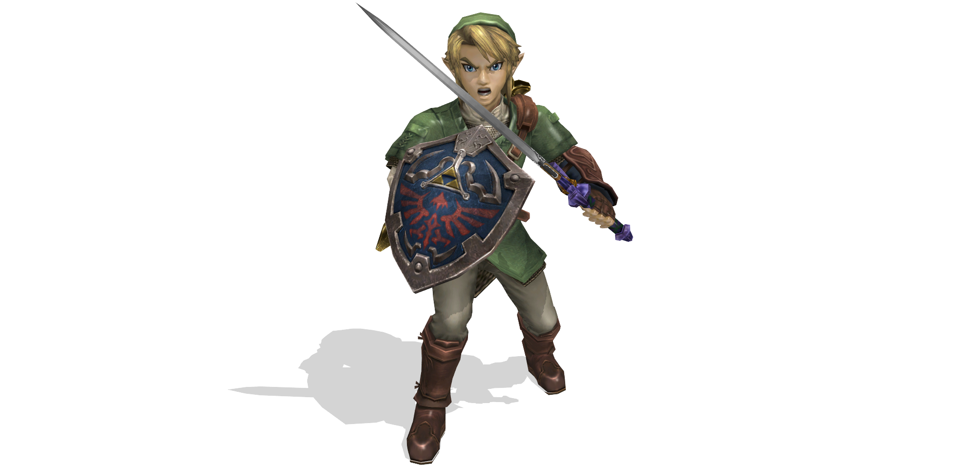 link dl by shad... Wolf Link Twilight Princess Fan Art