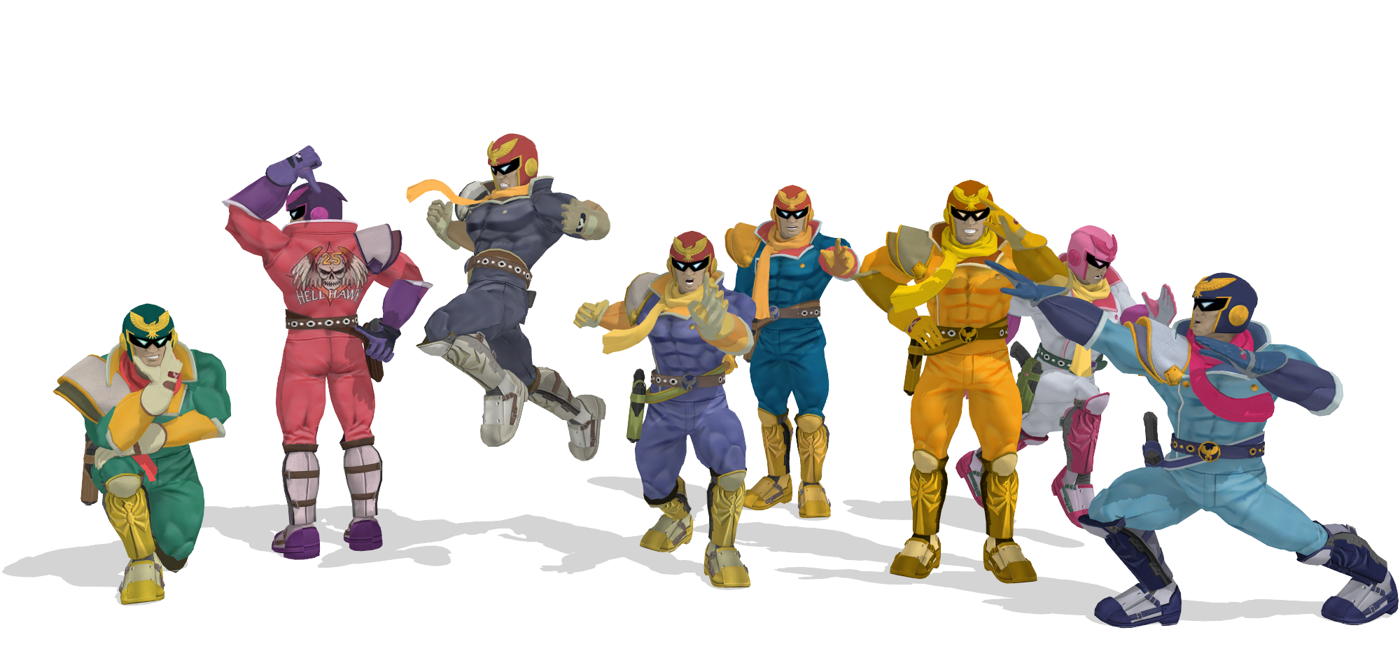 [MMD] SSB Wii U Captain Falcon DL by ShadowlesWOLF on ...