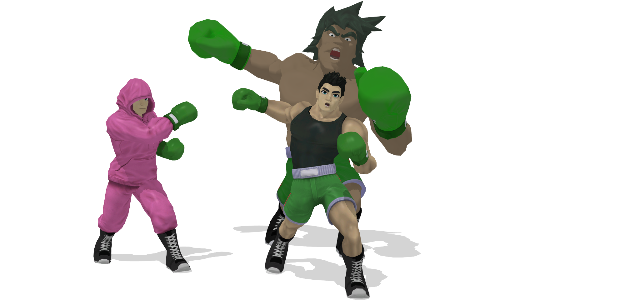 [MMD] SSB Wii U Little Mac DL by ShadowlesWOLF