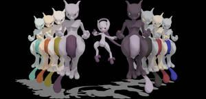 [MMD] SSB Wii U Mewtwo + DL