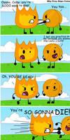Why Firey Slaps Coiny by crazy-bftdii-lover