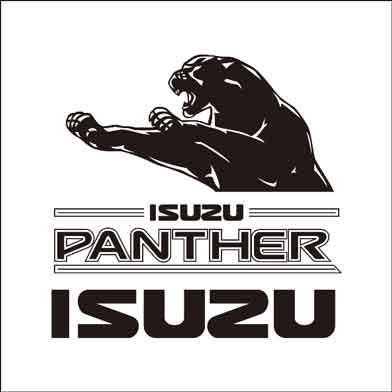 vector logo isuzu panther - corel drawlacailleartwork on deviantart