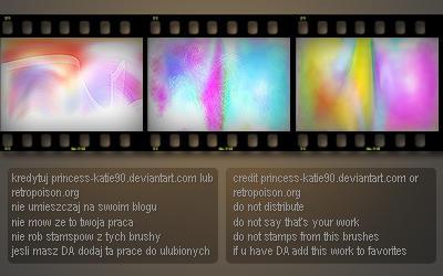 vibrant textures x4 by princess-katie90