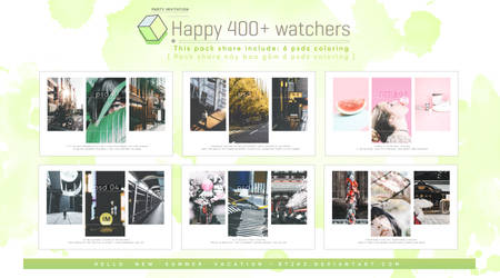 [ Share for you ] Happy 400+ watchers