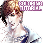 Coloring Tutorial by sakimichan