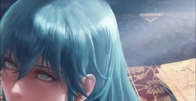 Byleth 3p animation