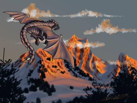 Dragon Over Mountain