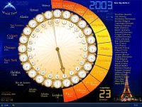 World Time -Santa's Clock- by xdev