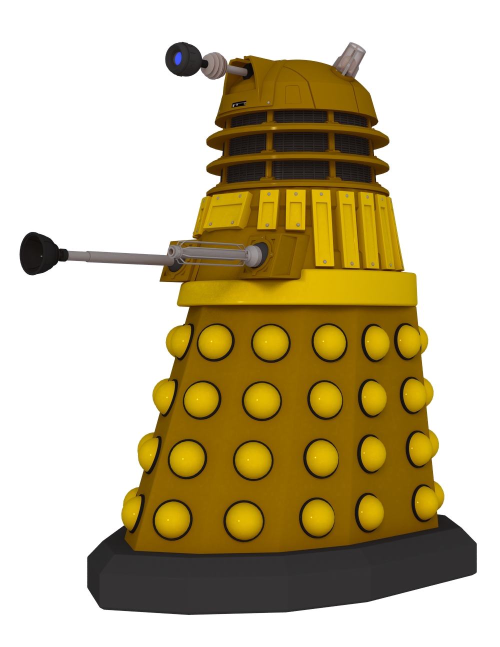 2005 Dalek Render Pack by cgartiste