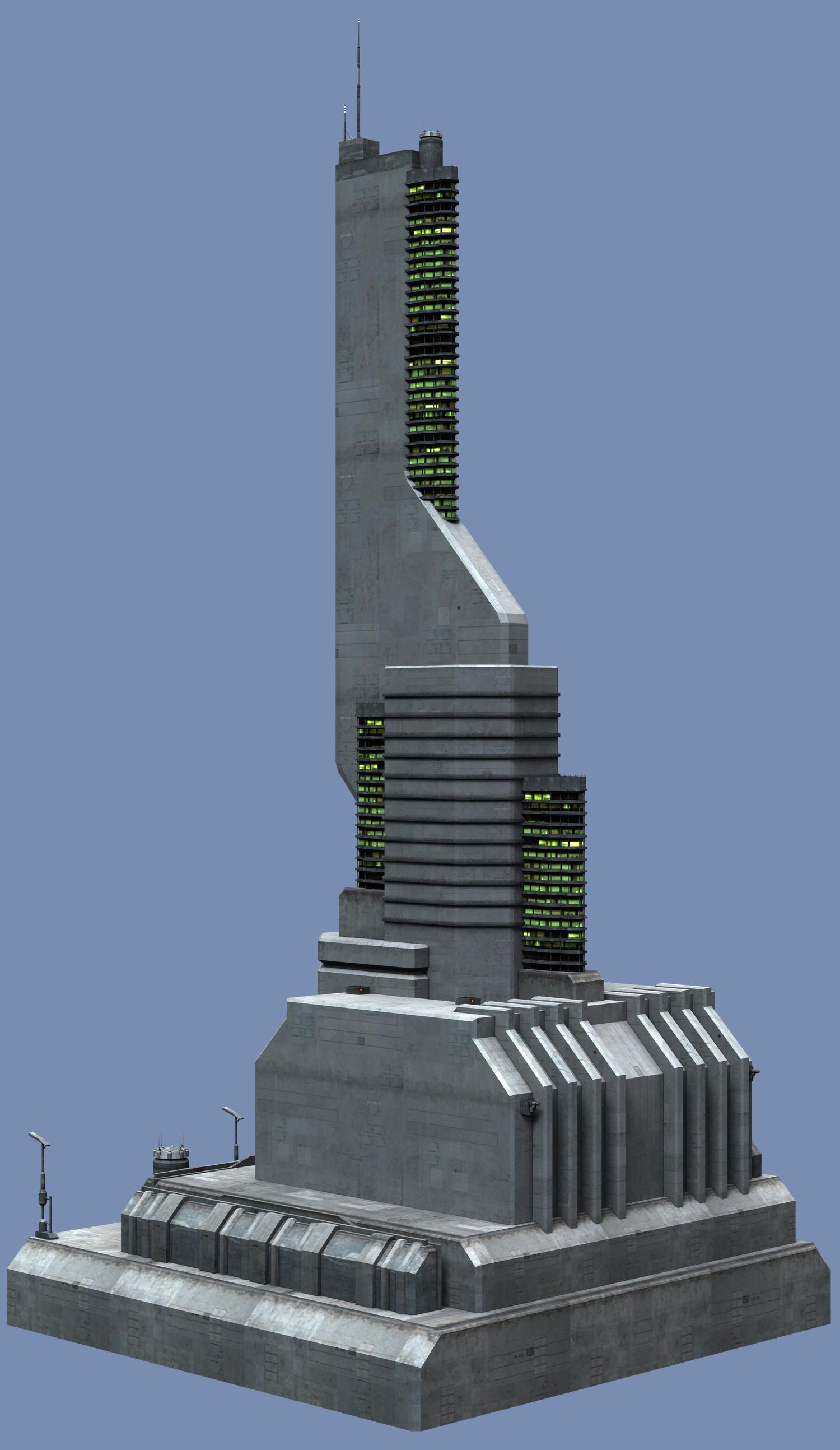 Scifi Building Series300