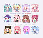 Sugary Icons #2 by Yeurei