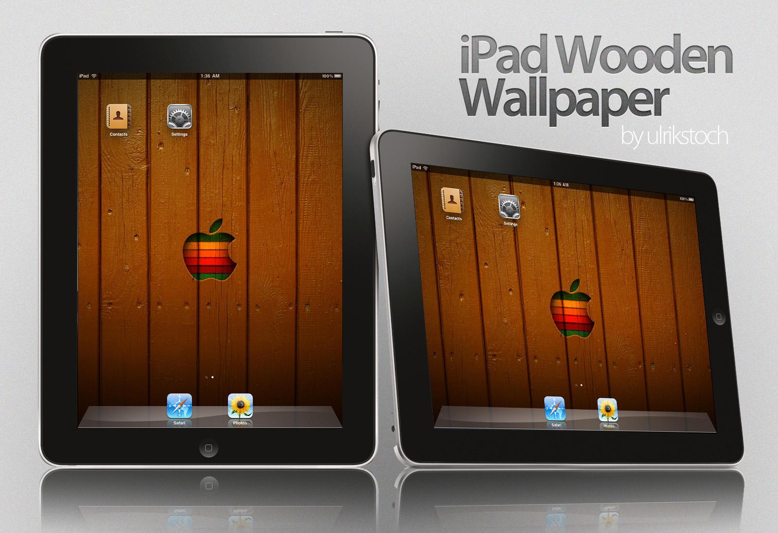 iPad Wooden Wallpaper by ulrikstoch