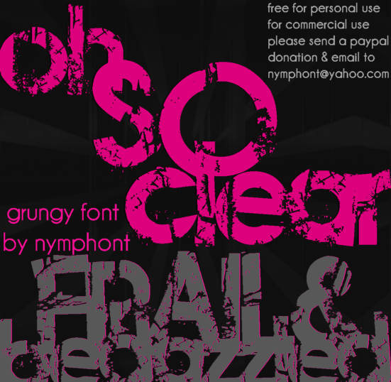Frail and Bedazzled Font