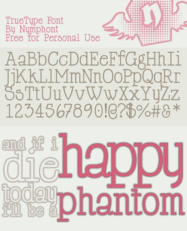Happy Phantom Font Family