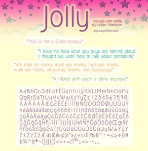 Jolly Font Family
