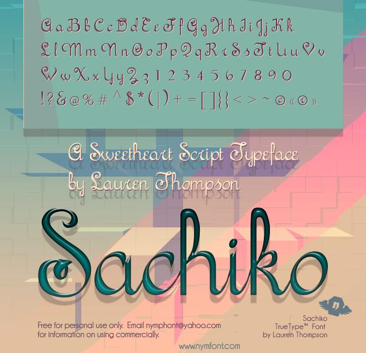 Sachiko Script