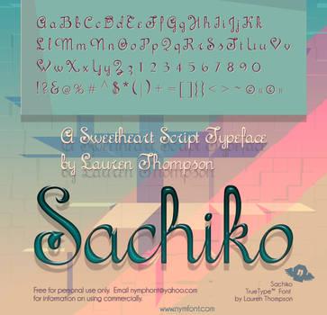 Sachiko Script by nymphont