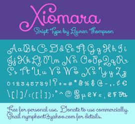 Xiomara Script Font