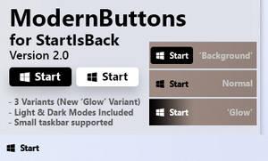 ModernButtons // XP Styled Buttons for StartIsBack