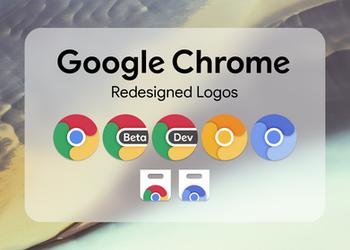 Google Chrome // Redesigned Icons
