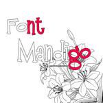 Font  Mandigo