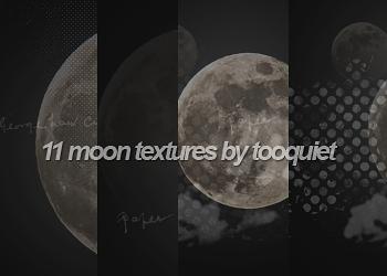 moon textures by alinalovato