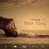 Simple UI Dock Bar Icons by ARTLime