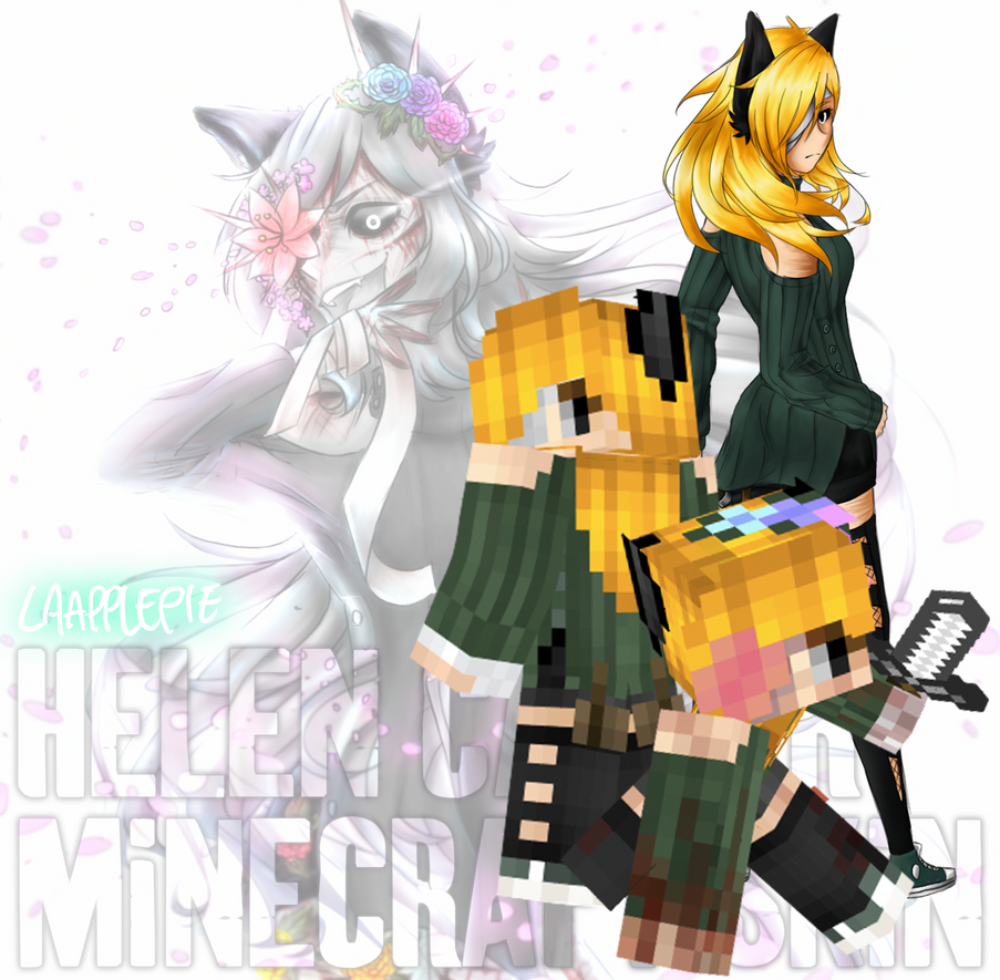 Helen Carver Minecraft Skin [S+A Base DOWNLOAD] by LAAPPLEPIE