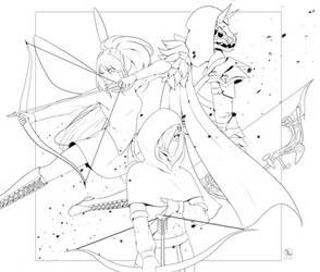 [HoD] Archers by LAAPPLEPIE