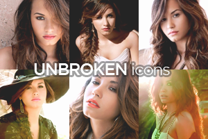 Demi Lovato - Unbroken Icons by Wyrywny