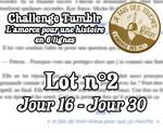 [Challenge Tumblr] Amorce pour 6 lignes - Lot 2 by MickuV