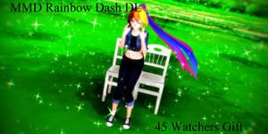 MMD Rainbow Dash Model DL (45 watchers gift)