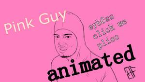 Pink Guy Headbang Animated GIF