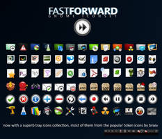 -FFW Fast Forward iconset- by liliumcruentus
