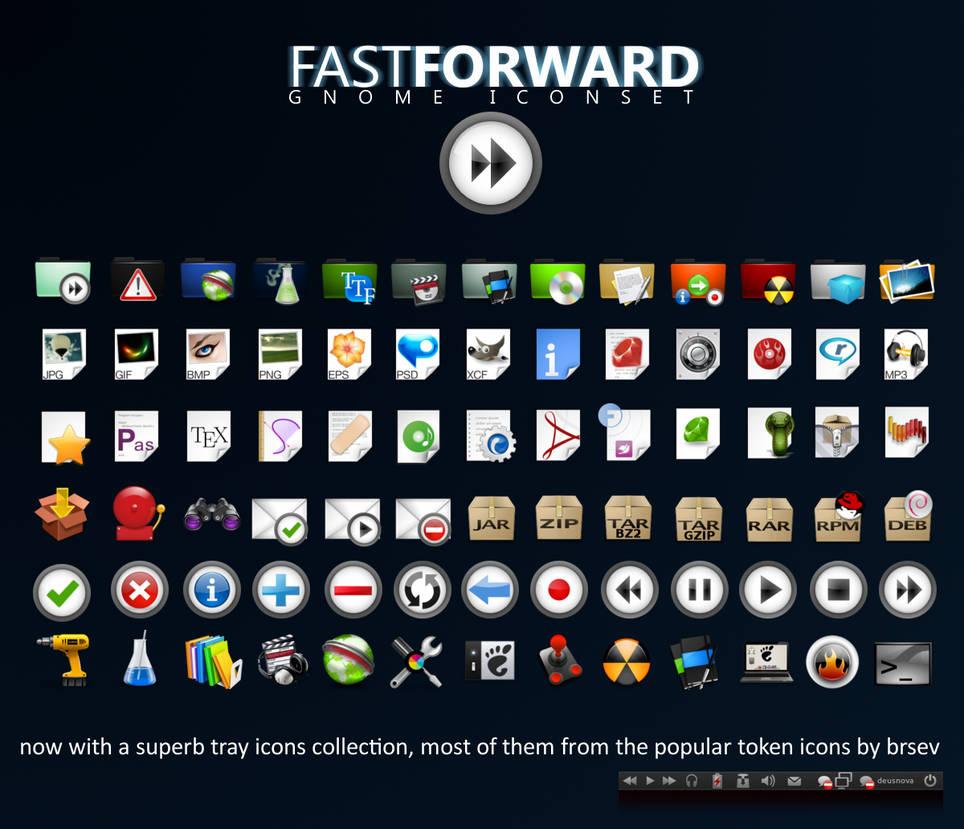 -FFW Fast Forward iconset-