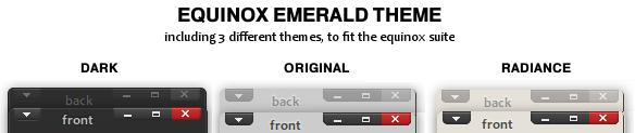 -Equinox emerald theme- by liliumcruentus
